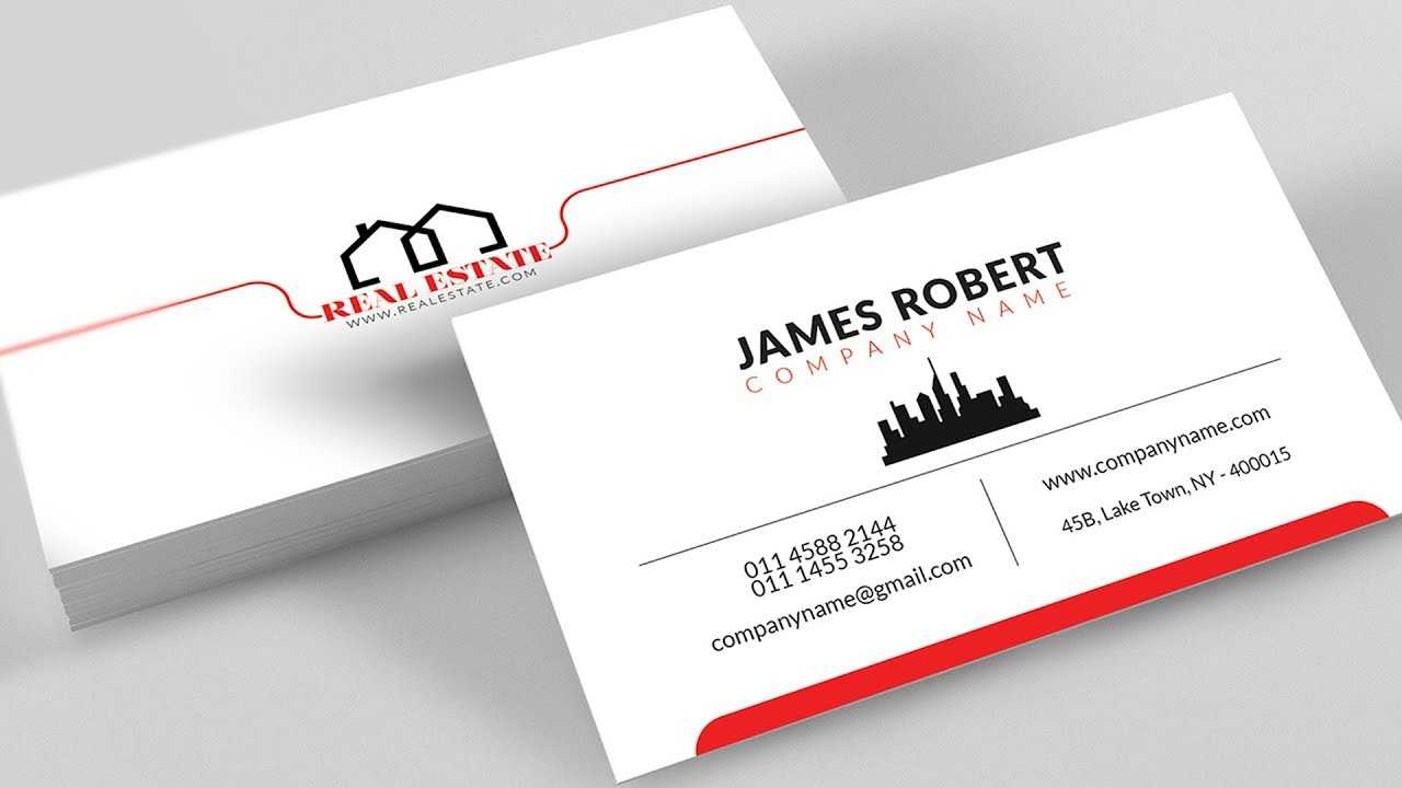 Clean Illustrator Business Card Design With Free Template Download Throughout Visiting Card Illustrator Templates Download