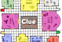 Clue Game Board Printable | Clue Games, Clue Board Game pertaining to Clue Card Template