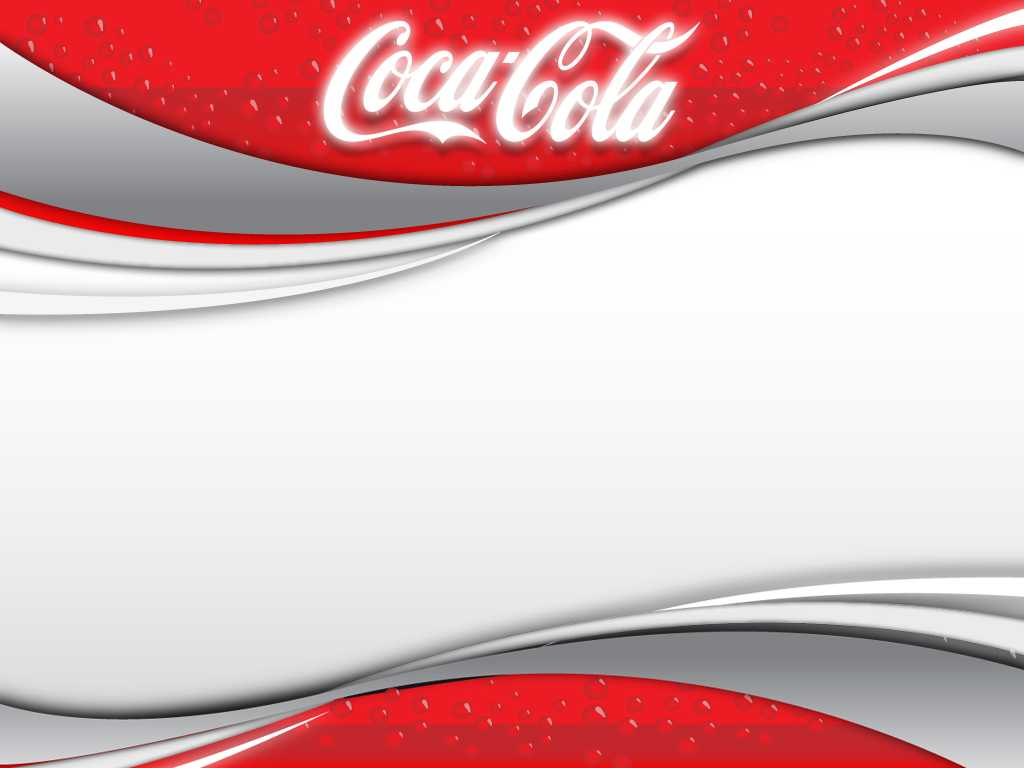Coca Cola 2 Backgrounds For Powerpoint - Miscellaneous Ppt Inside Coca Cola Powerpoint Template