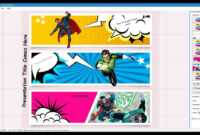 Comic Strip Template With Comic Powerpoint Template