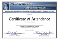 Conference Certificate Of Participation Template | Radiofixer.tk intended for Conference Certificate Of Attendance Template