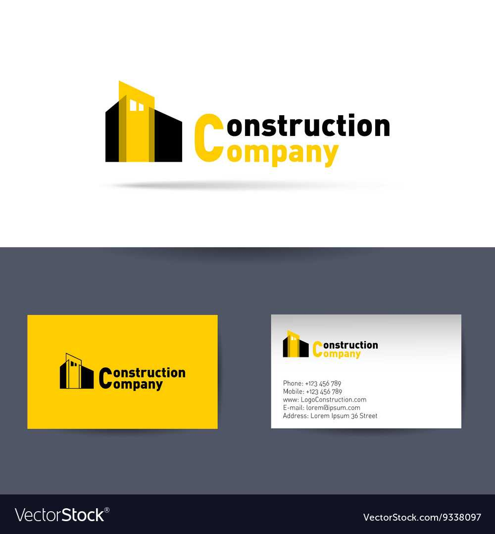 Construction Company Business Card Template Intended For Construction Business Card Templates Download Free