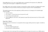 Construction Job Site Incident Report Form | Templates At throughout Construction Accident Report Template