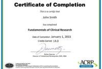Continuing Education Certificate Template Reeviewer.co 18+ within Continuing Education Certificate Template