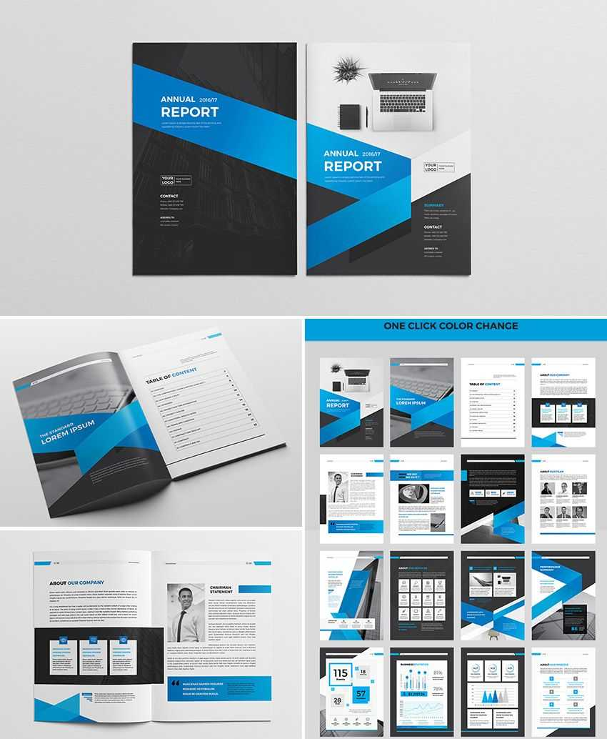 Cool Indesign Annual Corporate Report Template | Indesign intended for Adobe Indesign Brochure Templates