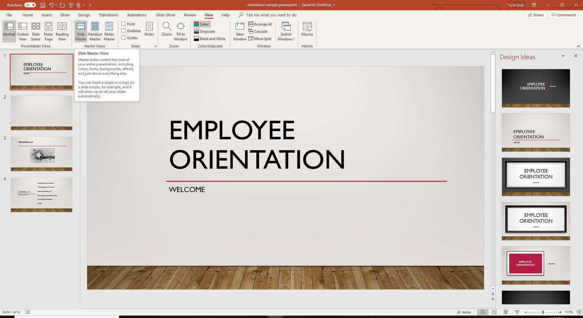 Copy A Powerpoint Slide Master To Another Presentation For How To Design A Powerpoint Template