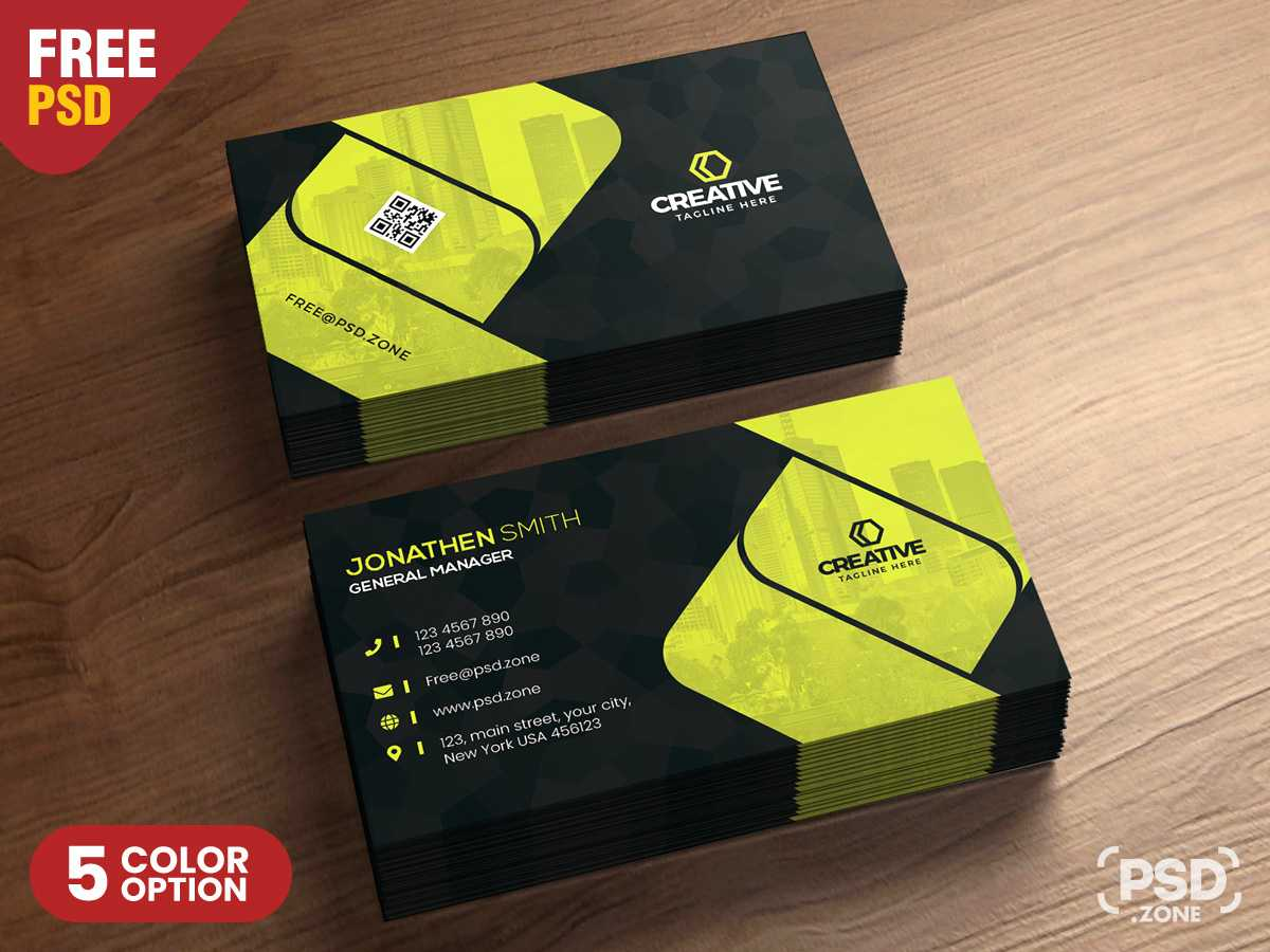 Corporate Business Card Design Psd - Psd Zone with Name Card Design Template Psd
