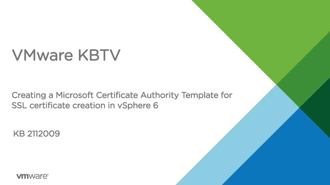 Creating A Microsoft Certificate Authority Template For Ssl Pertaining To Certificate Authority Templates