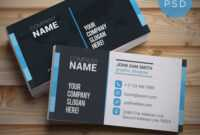 Creative Designer Business Card Template Free Psd At Throughout Unique Business Card Templates Free