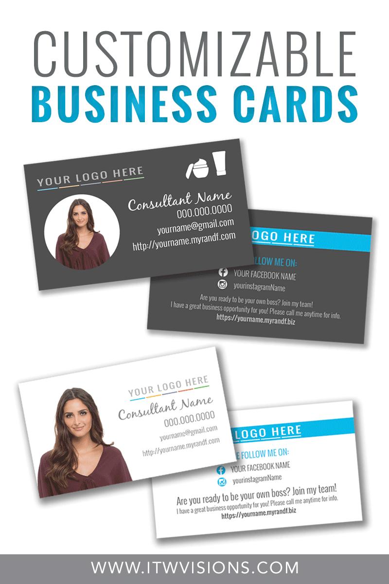 Customizable Business Card Templates For Rodan And Fields Intended For Rodan And Fields Business Card Template