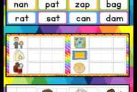 Cvc Words Activities | Education | Cvc Words, Making Words with Making Words Template