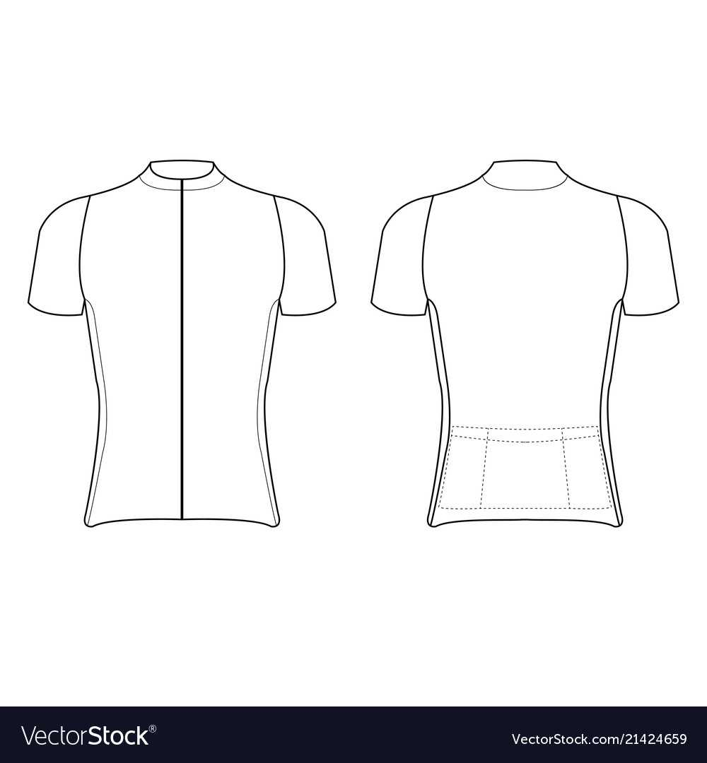 Cycling Jersey Design Blank Of Cycling Jersey Throughout Blank Cycling Jersey Template