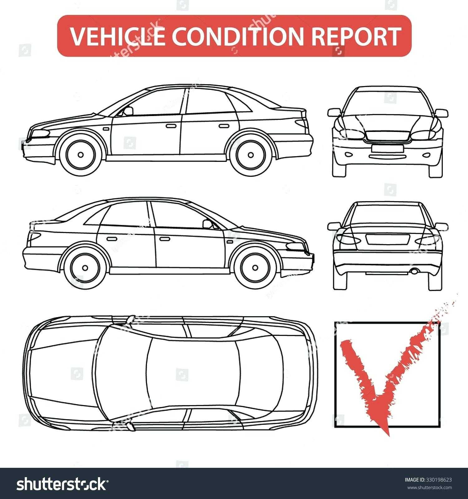 Damage Report Template – Wovensheet.co For Car Damage Report Template