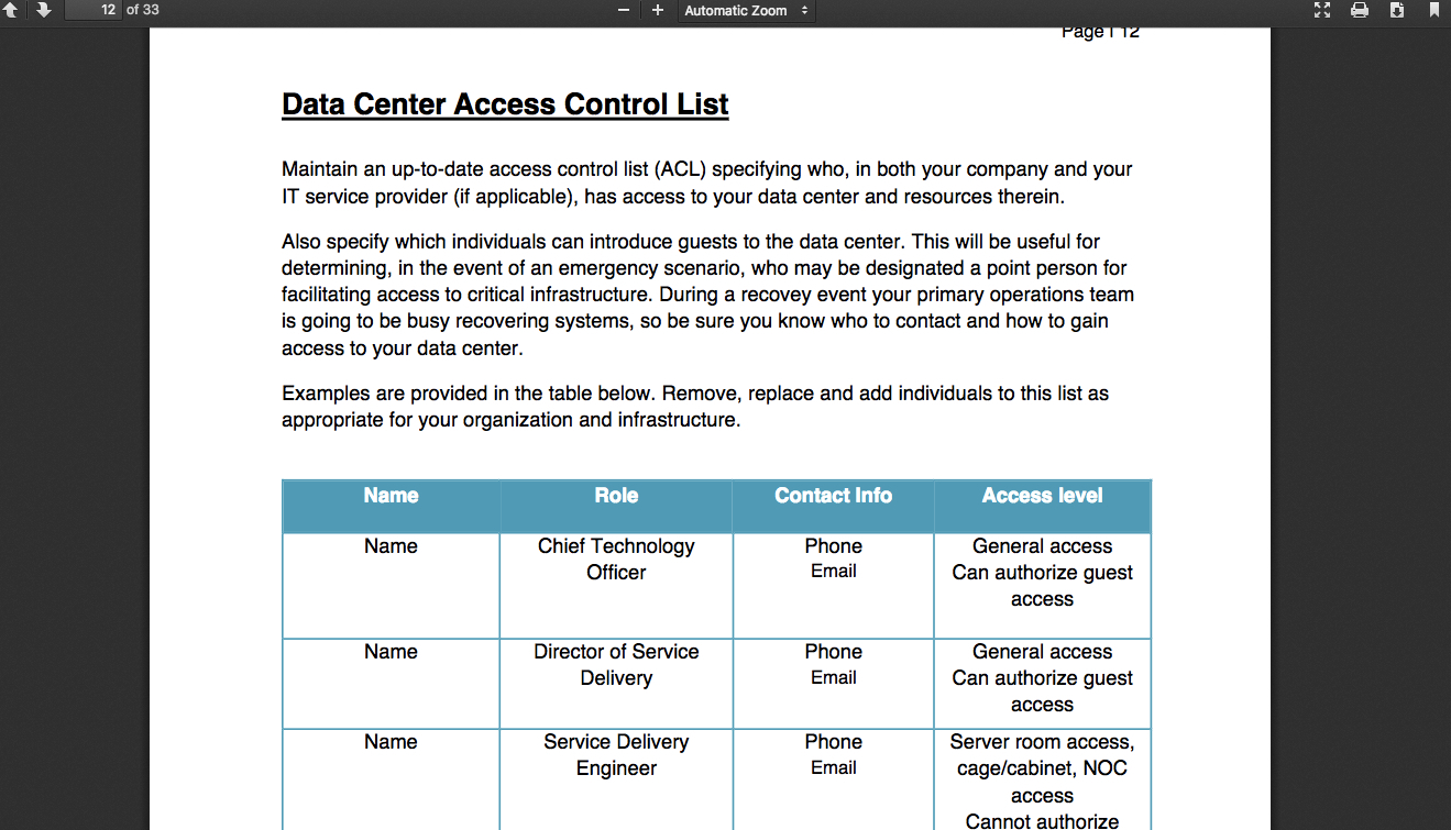 Data Center Audit Report Template - Atlantaauctionco Intended For Data Center Audit Report Template
