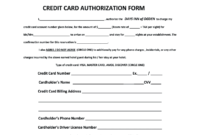 Days Inn Montrose Colorado Credit Card Authorization – Fill intended for Hotel Credit Card Authorization Form Template