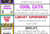 Decorate Your School Library With One Of These Bulletin with Bulletin Board Template Word