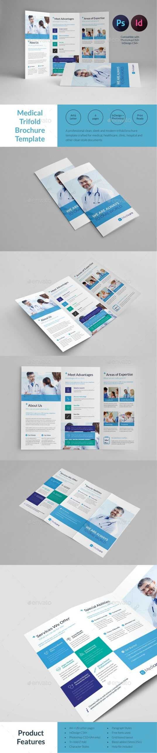 Dental Graphics, Designs & Templates From Graphicriver pertaining to Medical Office Brochure Templates