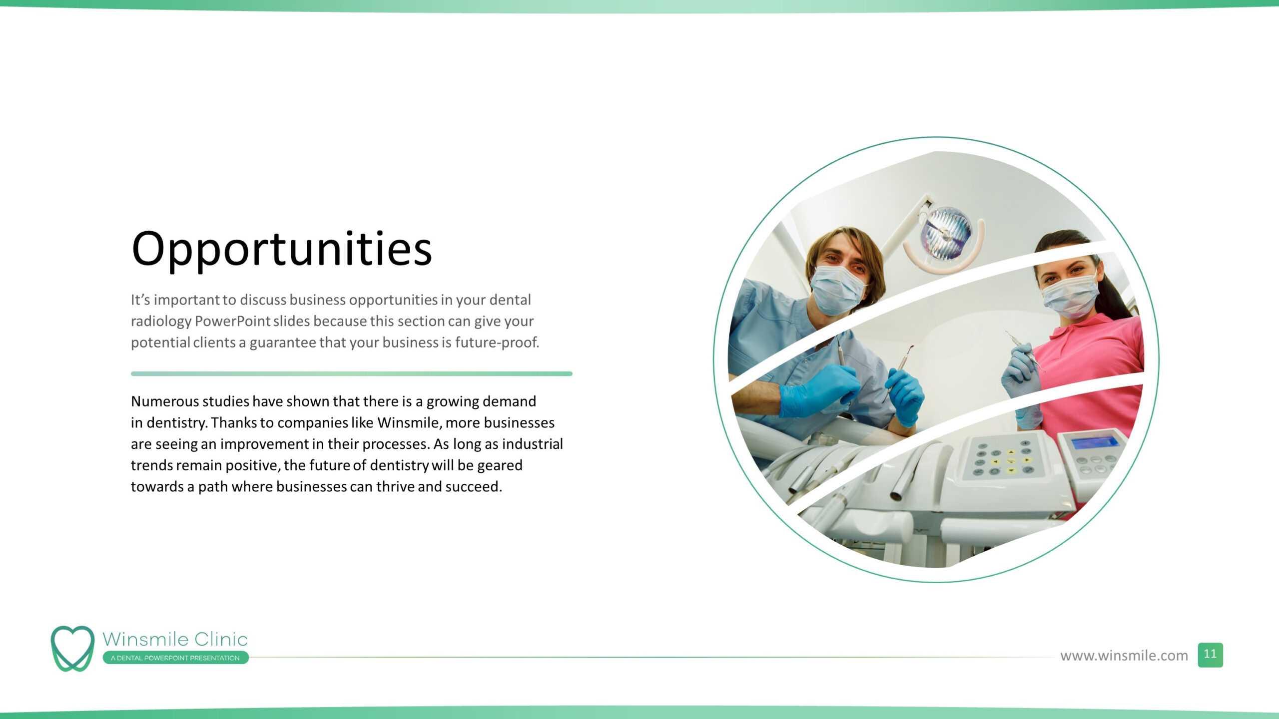 Dentistry Premium Powerpoint Template - Slidestore throughout Radiology Powerpoint Template