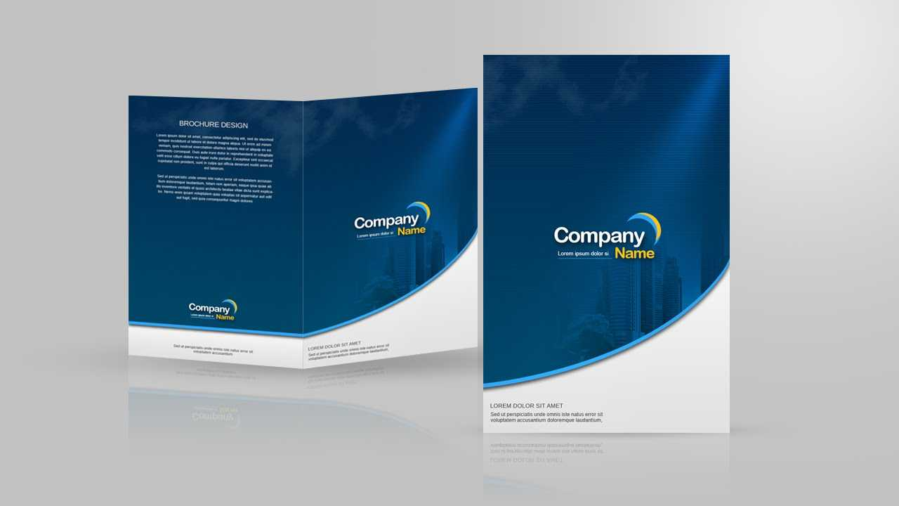 Design A Two Fold Brochure In Photoshop Throughout 2 Fold Brochure Template Psd