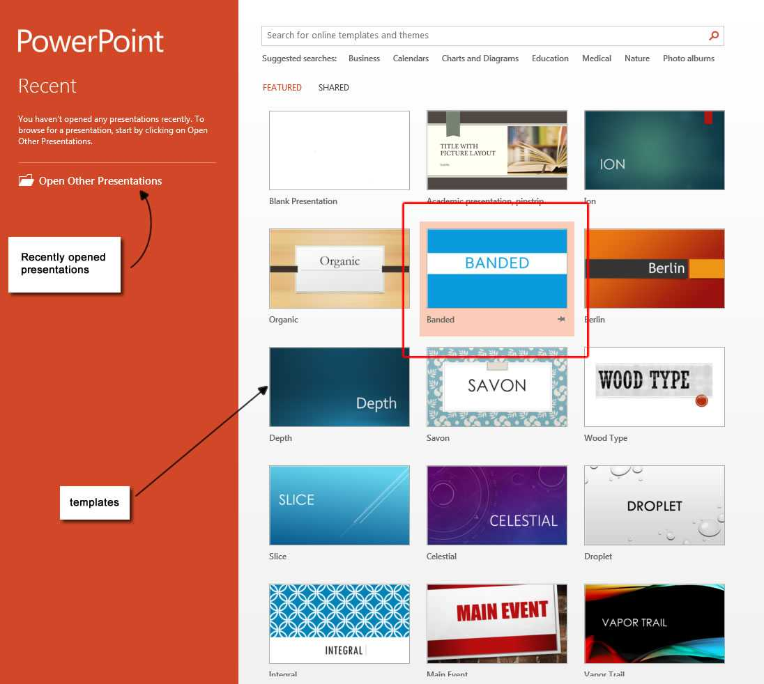 Design – Microsoft Powerpoint 2013 Tutorials within What Is A Template In Powerpoint