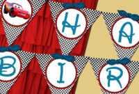 Disney Cars Birthday Banner Printable – Best Banner Design 2018 regarding Cars Birthday Banner Template