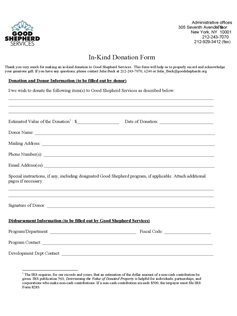 Donation And Sponsorship Form - 20 Free Templates In Pdf throughout Blank Sponsorship Form Template