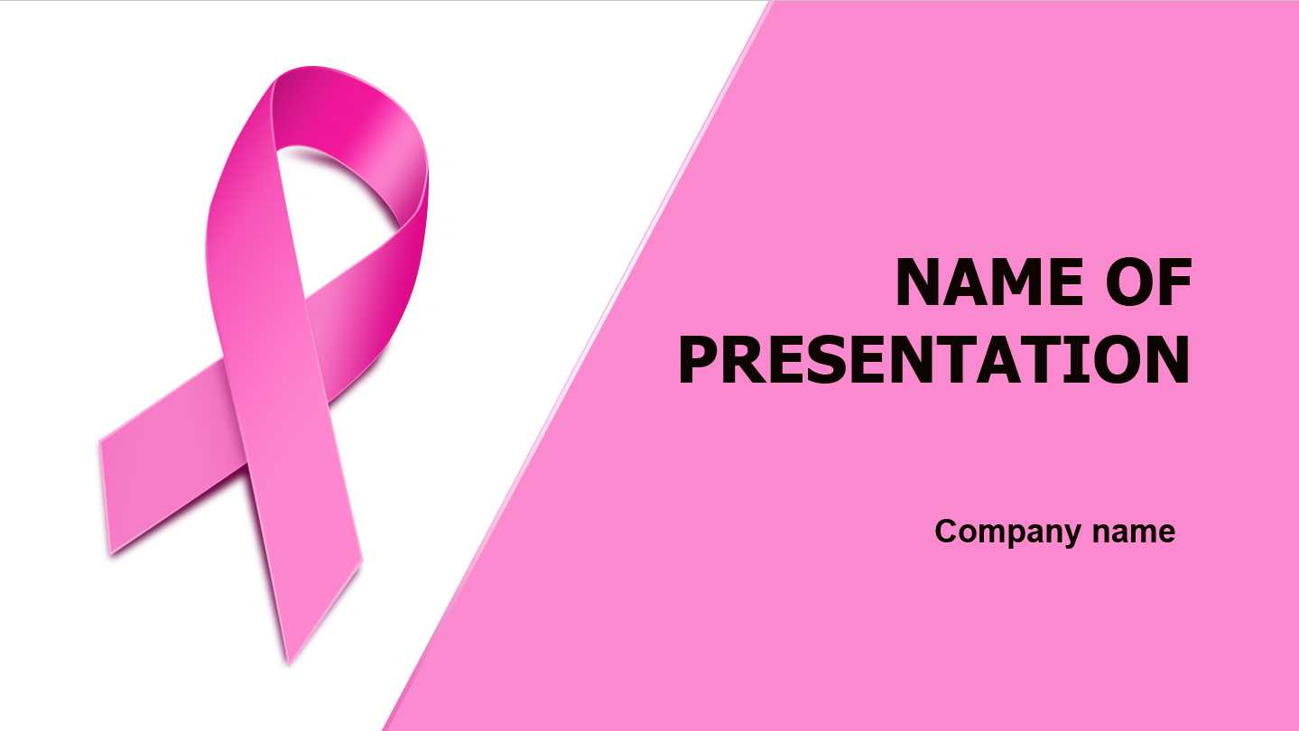 Download Free Breast Cancer Powerpoint Template And Theme With Free Breast Cancer Powerpoint Templates