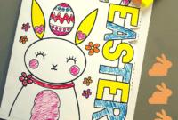 Easter Card Template | Mrs Mactivity inside Easter Card Template Ks2