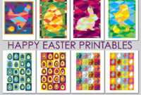 Easter Free Printables, Art & Craft Projects For Kids – The for Easter Card Template Ks2