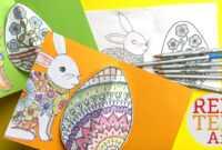 Easy Pop Up Easter Card – 3D Easter Egg Diy with Easter Card Template Ks2
