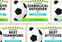 Editable Soccer Award Certificates – Instant Download for Soccer Award Certificate Templates Free