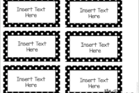 Editable Word Wall Templates | Word Wall Labels, Label inside Blank Word Wall Template Free