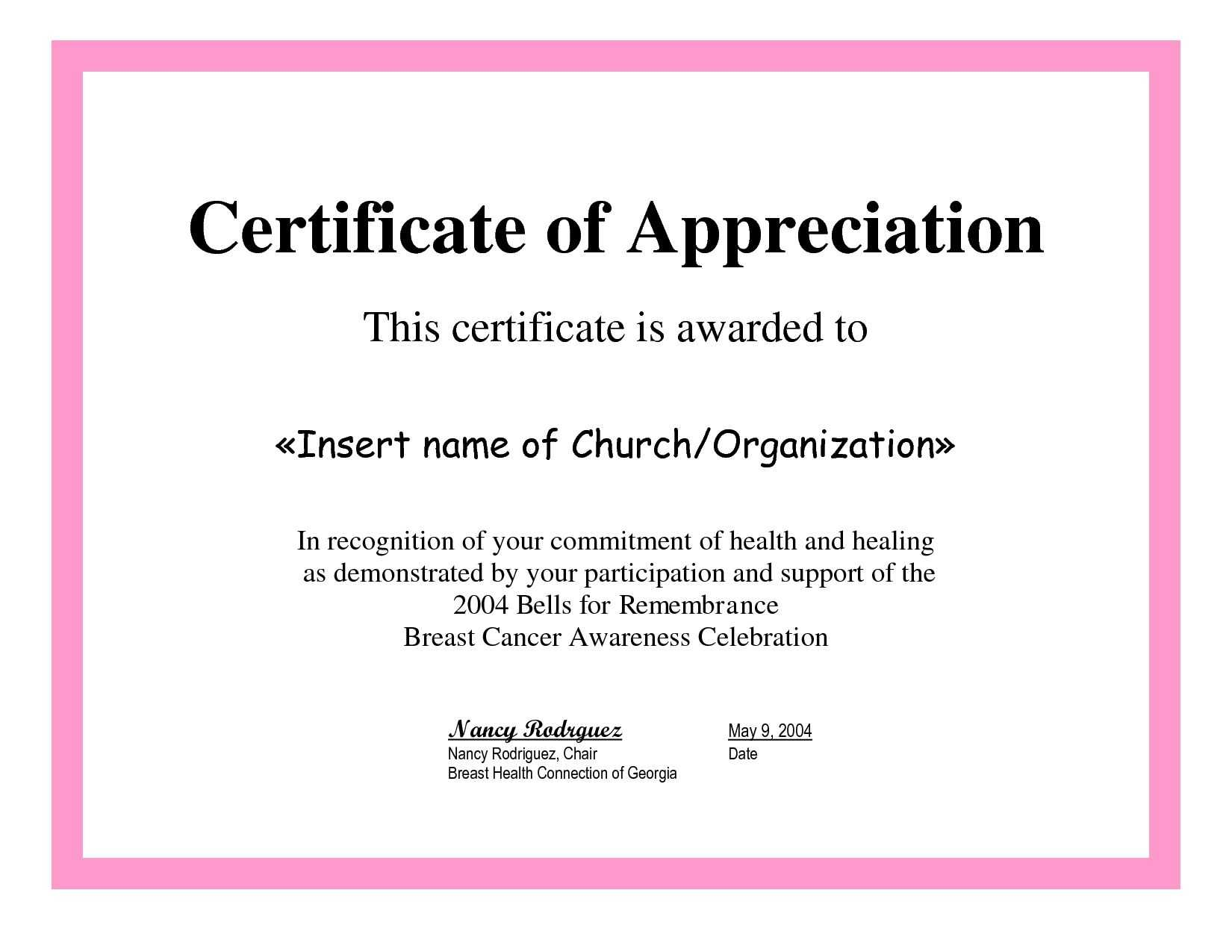 Employee Appreciation Certificate Template Free Recognition With Manager Of The Month Certificate Template