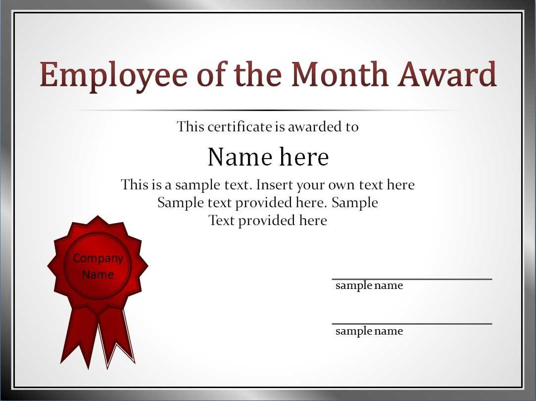 Employment Certificate Template This Is To Certify Best Of inside Employee Of The Month Certificate Templates