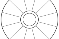 Empty Focus Wheel (To Print) | Abraham | Focus Wheel In Wheel Of Life Template Blank