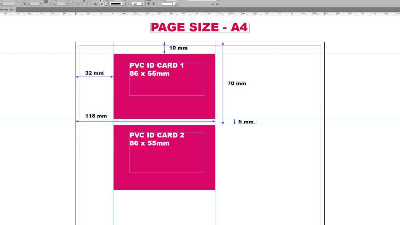 Epson L800/805 Printers Pvc Id Card Printing Layout - Youtube Pertaining To Pvc Card Template