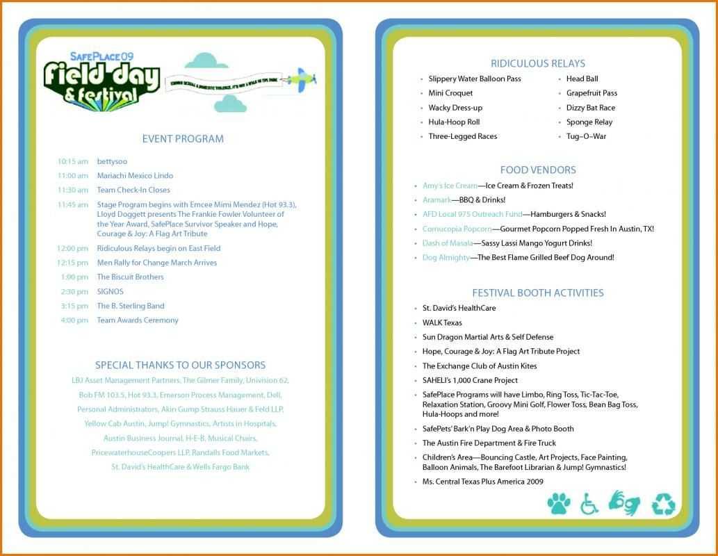 Event Program Template | Program Template, Wedding Program Throughout Free Event Program Templates Word