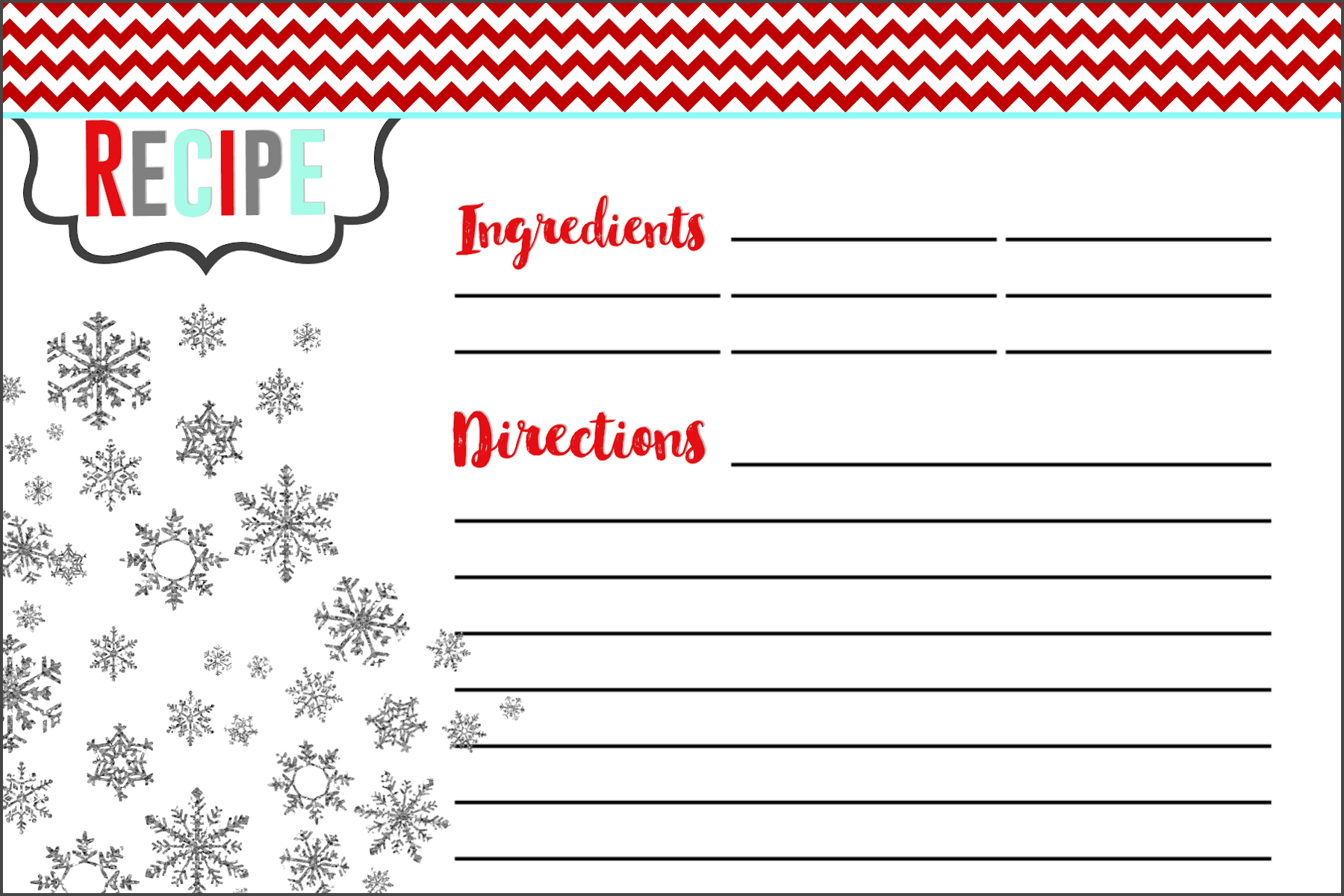 Everything You Need To Know To Host A Holiday Cookie Swap pertaining to Cookie Exchange Recipe Card Template