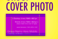 Facebook Group Cover Photo Size 2019: Free Template with Facebook Banner Size Template