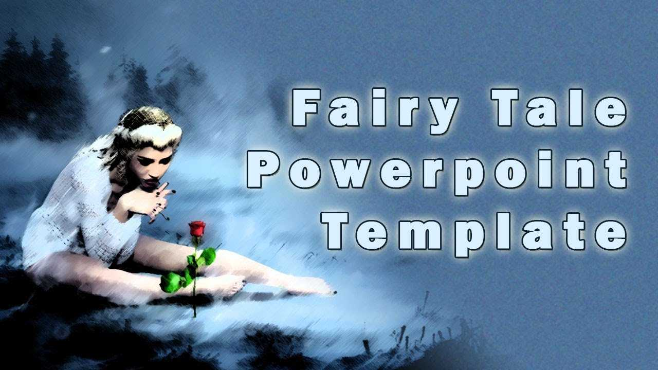 Fairy Tale Powerpoint Template With Clip Art Inside Fairy Tale Powerpoint Template