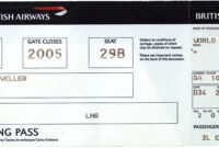 Fake Ticket Template Word Templates Sample Of A Payslip with Plane Ticket Template Word