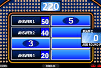 Family Feud Rusnak Creative Free Powerpoint Games For regarding Family Feud Powerpoint Template Free Download