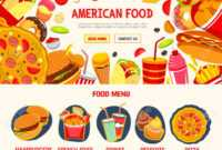 Fast Food Restaurant Menu Banner Template with regard to Food Banner Template