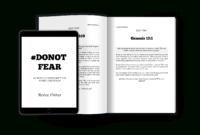 Fearless (6X9) Self-Publishing Template for 6X9 Book Template For Word