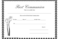 First Communion Banner Templates | Printable First Communion intended for First Communion Banner Templates