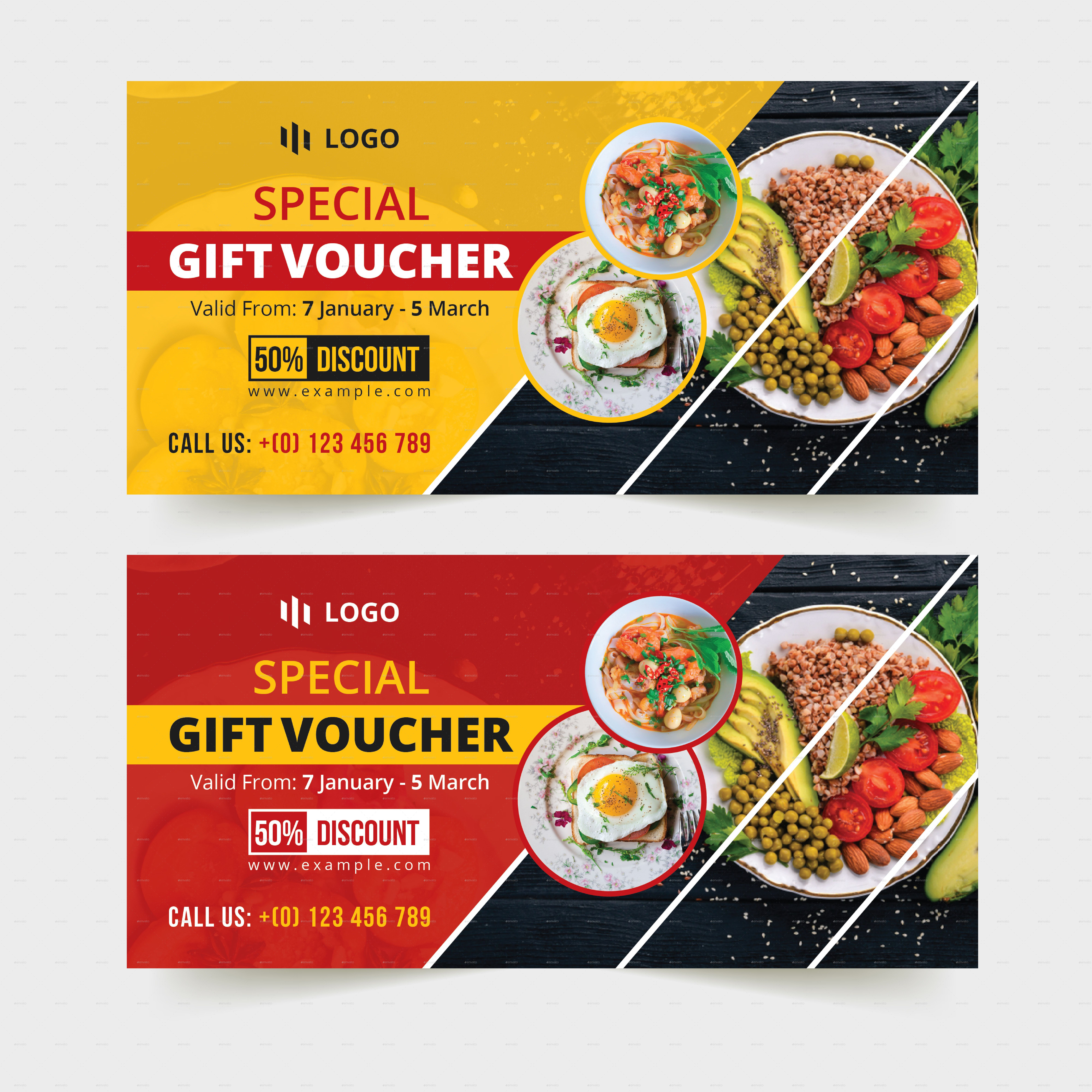 Food-Restaurant Gift Voucher Template #restaurant, #food with Pizza Gift Certificate Template