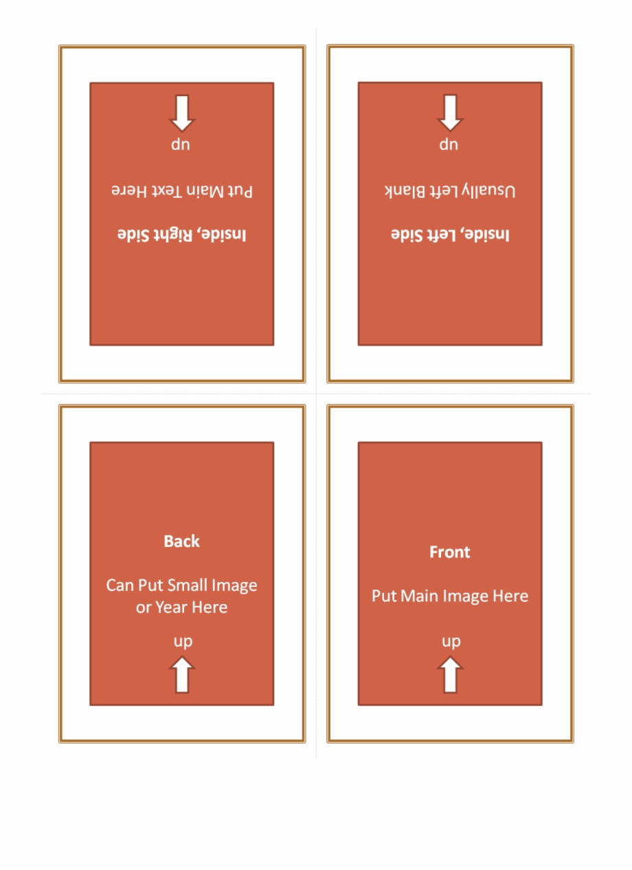 Four Fold Greeting Card Template 127614 - Quarter Fold Pertaining To Quarter Fold Birthday Card Template