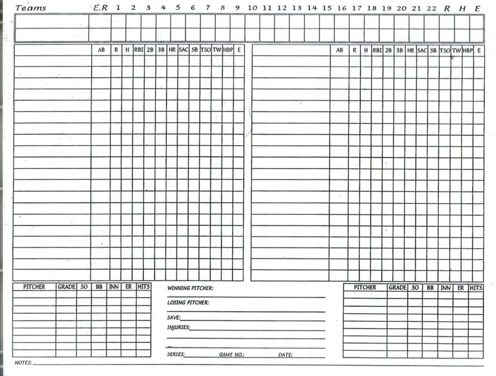 Free Baseball Stats Spreadsheet 008 Template Ideas Regarding with Free Baseball Lineup Card Template