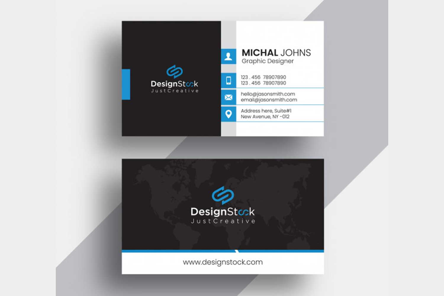 Free Business Card Template Download - Maxpoint Hridoy with Download Visiting Card Templates