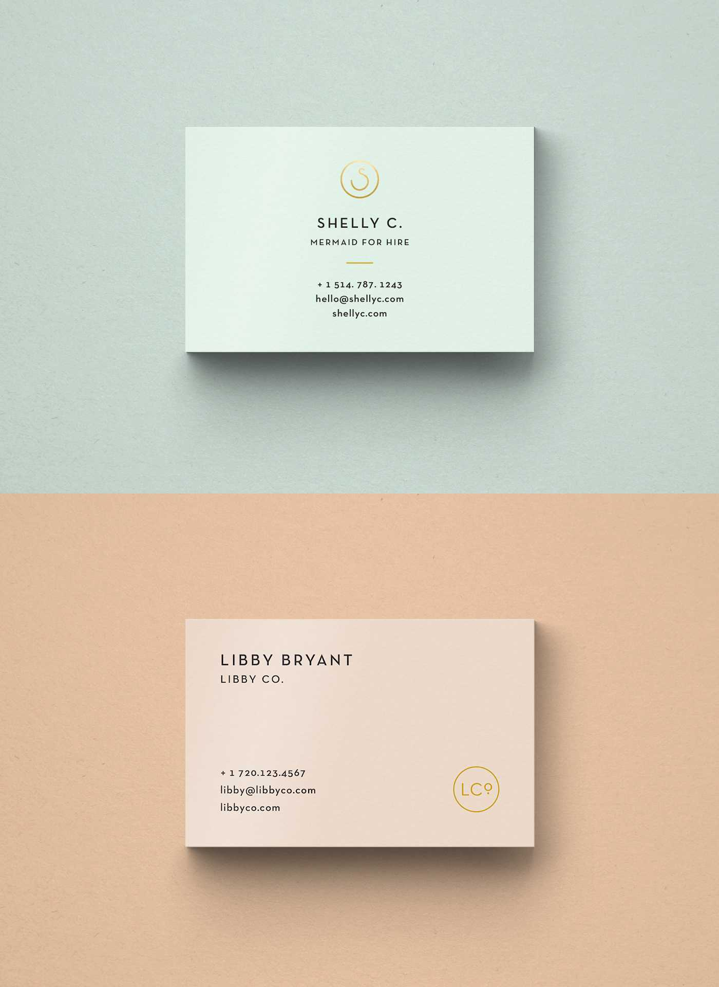 Free Business Card Templates • Libby Co. Boutique Branding within Free Bussiness Card Template